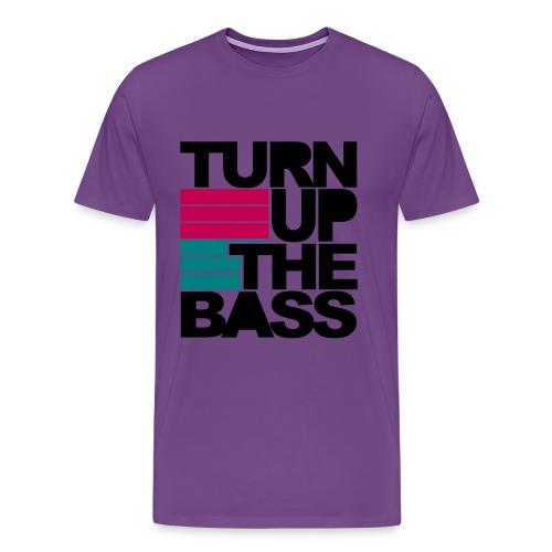 Turn Up The Bass - Men's Premium T-Shirt