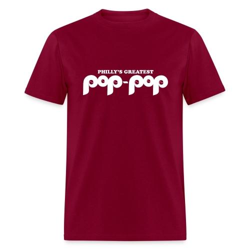 Philly's Greatest Pop Pop Shirt - Men's T-Shirt