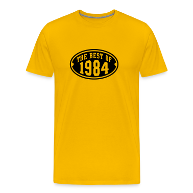 THE BEST OF 1984 Birthday Anniversary T-Shirt BY