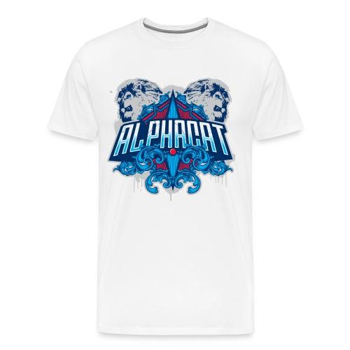 Alphacat Men's 3XL/ 4XL Tee - Men's Premium T-Shirt