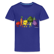 Kids' Shirts ~ Kids' Premium T-Shirt ~ Kids' Veggie Rainbow T-Shirt