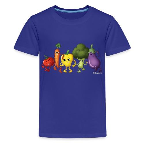 Kids' Veggie Rainbow T-Shirt - Kids' Premium T-Shirt