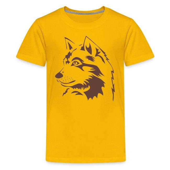 animal t-shirt wolf wolves pack hunter predator howling wild wilderness dog husky malamut