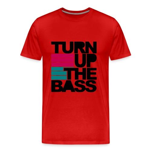 Turn Up The BASS MENS T-Shirt - Men's Premium T-Shirt
