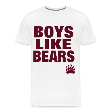 BOYS LIKE BEARS T-Shirts