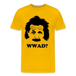 What Would Albert Do? - Men's Premium T-Shirt