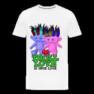 T-Shirts ~ Men's Premium T-Shirt ~ Explicit - Troll Love Is True Love T-Shirt