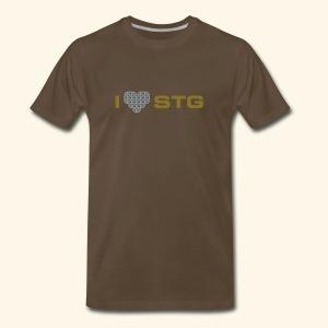 I ❤ STG 3 - Men's Premium T-Shirt