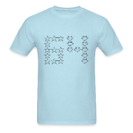T-Shirts ~ Men's T-Shirt ~ Stars and Foxes and a Sixty-Four for Guys