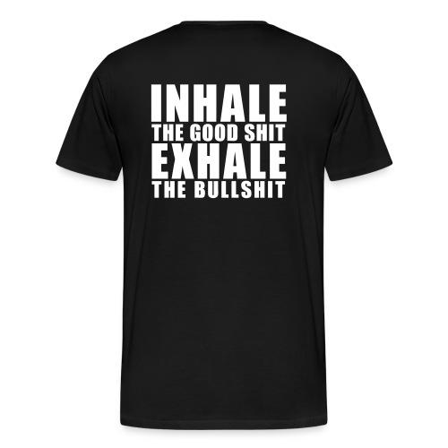 TOUGH GUY - EXHALE - Men's Premium T-Shirt