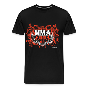MMA - Nothing Else Matters - BW - Men's Premium T-Shirt