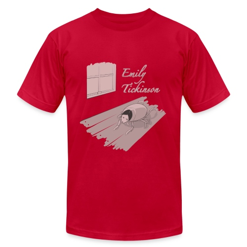 Emily Tickinson - Men's T-Shirt by American Apparel