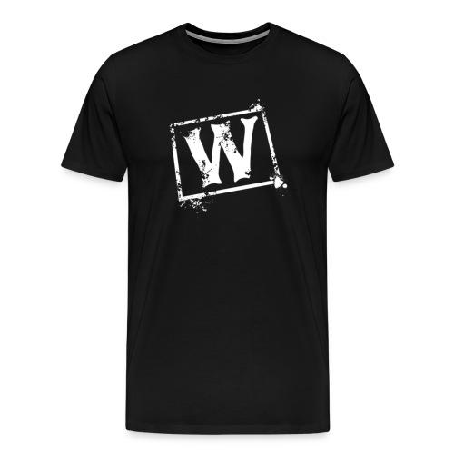 Watchmen Support W Shirt - Black - Men's Premium T-Shirt
