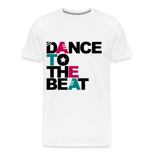 Dance To The Beat - Men's Premium T-Shirt