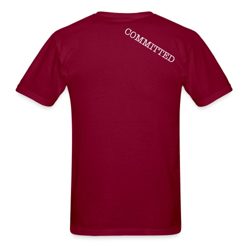 COMMITTED RAGE TEE - Men's T-Shirt