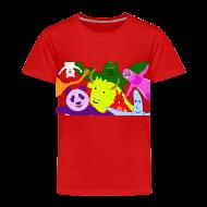 Baby & Toddler Shirts ~ Toddler Premium T-Shirt ~ Animals and Banana