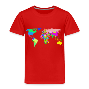 The World - Toddler Premium T-Shirt