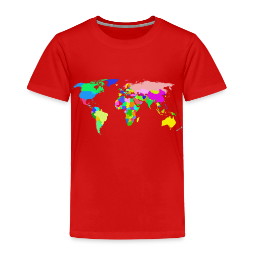 The World - Toddler Premium T-Shirt