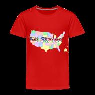 Baby & Toddler Shirts ~ Toddler Premium T-Shirt ~ 50 States