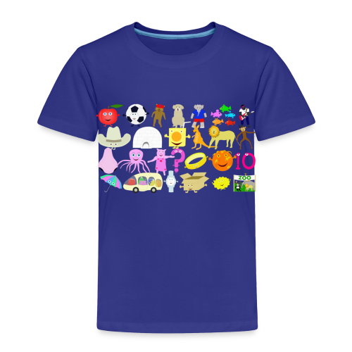 Phonics Song 3 - Toddler Premium T-Shirt