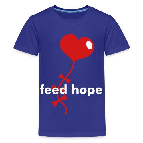 Youth Heart Kite T-Shirt - Kids' Premium T-Shirt