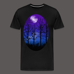 OWL MOON - Men's Premium T-Shirt