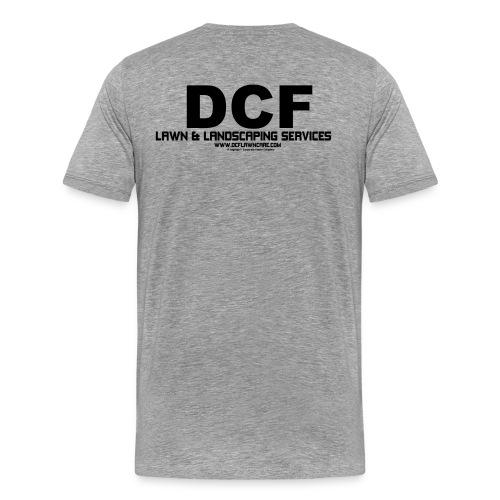 SDagrapp Clothing® | DCF Lawn & Landscaping Crew Collection - Men's Premium T-Shirt