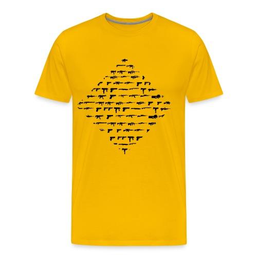 Guns Guns Guns - Men's Premium T-Shirt