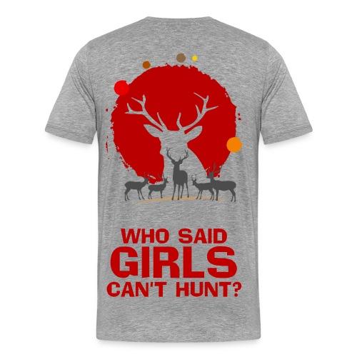 girl shirt - Men's Premium T-Shirt