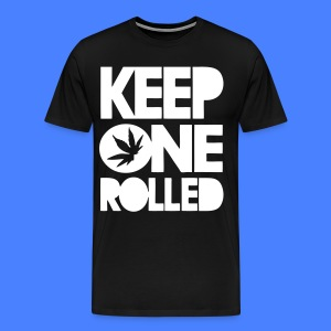 Keep One Rolled T-Shirts - stayflyclothing.com - Men's Premium T-Shirt