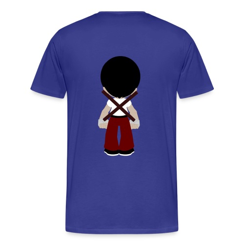 Danny Filipino Martial Artist T-shirt (Front and Back) - Men's Premium T-Shirt