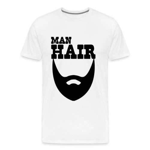 Man Hair - Men's Premium T-Shirt