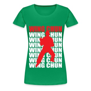 Wing Chun - Women's Premium T-Shirt