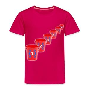 Bozo Bucket Game - Toddler Premium T-Shirt