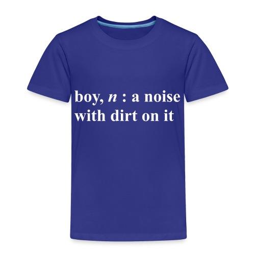 BOY - Toddler Premium T-Shirt