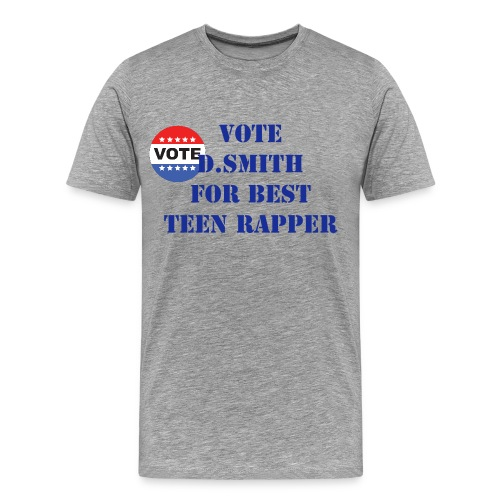 vote for d.smith tee shirt - Men's Premium T-Shirt