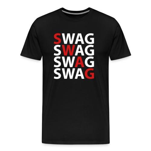 SWAGG TEE - Men's Premium T-Shirt