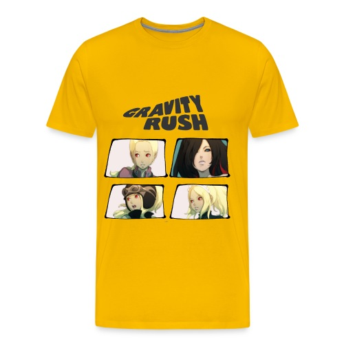 Gravity Rush Comic - Men's Premium T-Shirt