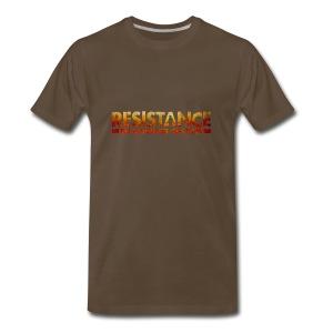 Resistance: Burning Skies - Men's Premium T-Shirt