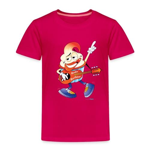 Rockin' Red Velvet Cupcake Toddler Tee - Toddler Premium T-Shirt