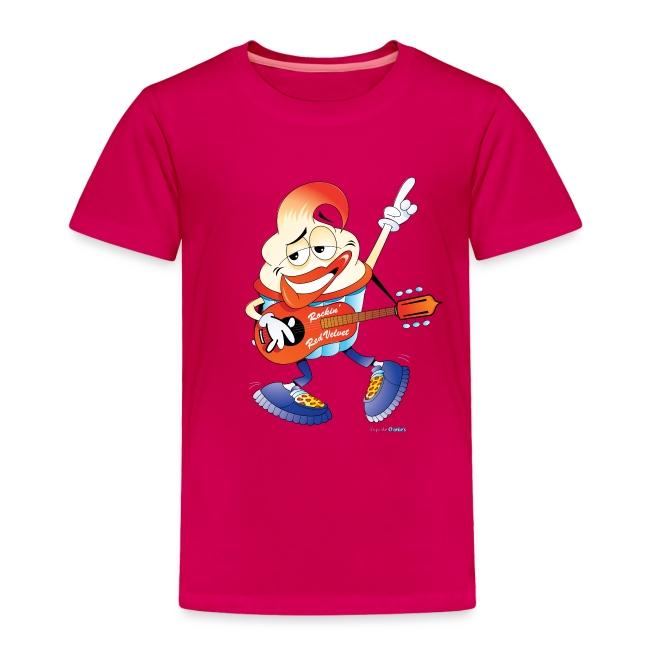 Rockin' Red Velvet Cupcake Toddler Tee