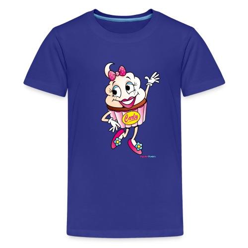 Cupcake Carly Kids Tee - Kids' Premium T-Shirt