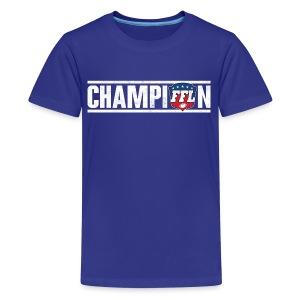FANTASY FOOTBALL CHAMPION - Kids' Premium T-Shirt