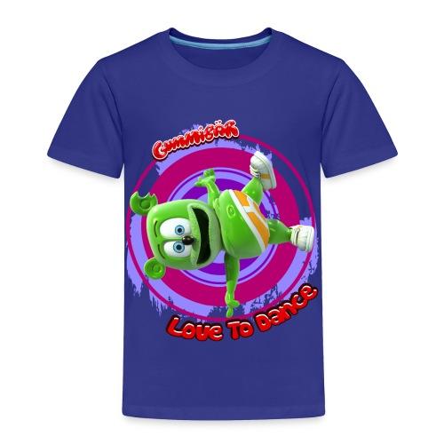 Gummibär (The Gummy Bear) Love To Dance Toddler T-Shirt - Toddler Premium T-Shirt