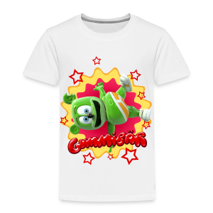 Gummibär (The Gummy Bear) Starburst Toddler T-Shirt - Toddler Premium T-Shirt