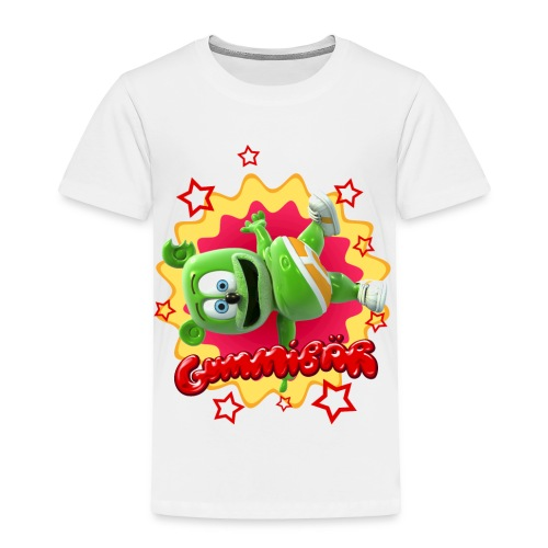 Gummibär (The Gummy Bear) Starburst Toddler T-Shirt - Toddler Premium T-Shirt
