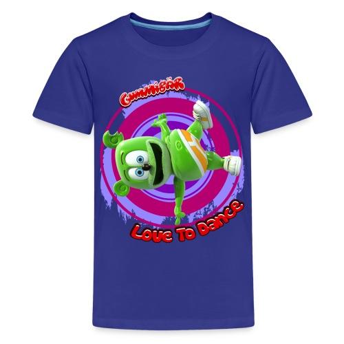 Gummibär (The Gummy Bear) Love To Dance Kids' T-Shirt - Kids' Premium T-Shirt