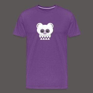BEAR SKULL2 - Men's Premium T-Shirt