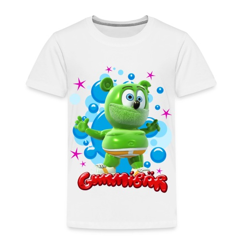 Gummibär (The Gummy Bear) Bubbles Toddler T-Shirt - Toddler Premium T-Shirt