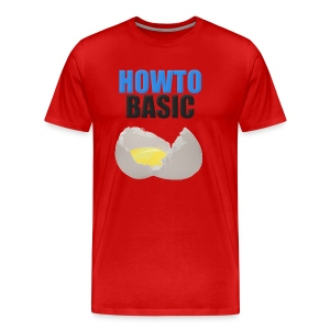 Men's Premium T-Shirt - merchandise,YouTube,HowToBasic,How to Basic